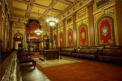 French inspired room in the Masonic Lodge
