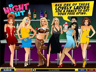 free A Night Out slot bonsu game