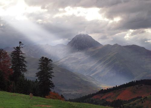 strange weather over the Pic du Midi