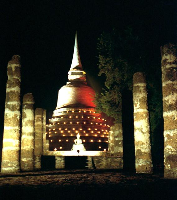 1992 #129-9 Sukhothai Loi Krathong