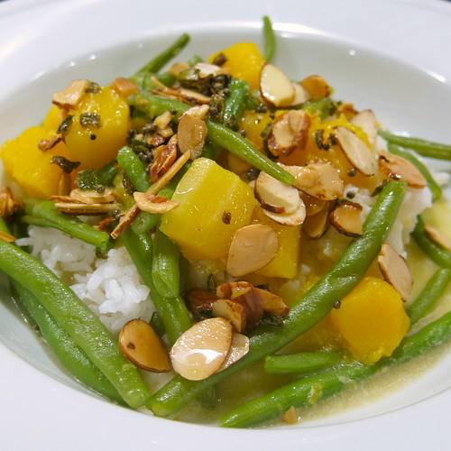 Squash & Green Bean Curry