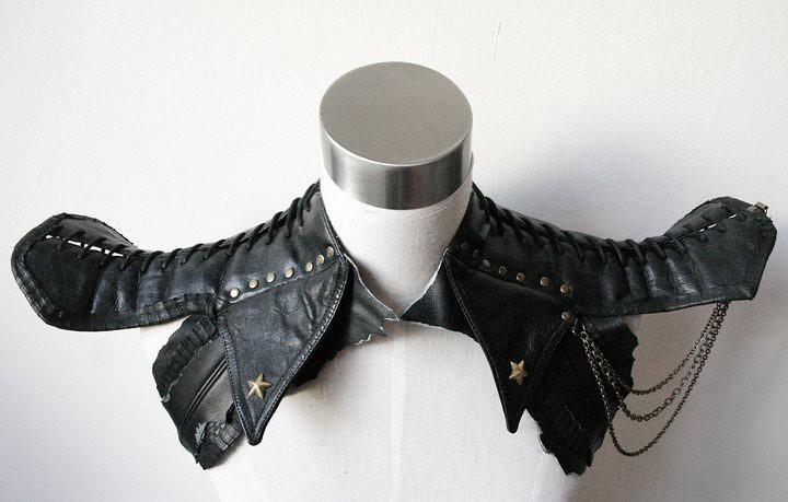 Leather shoulder harness by gTie Jenni Ahtiainen 11