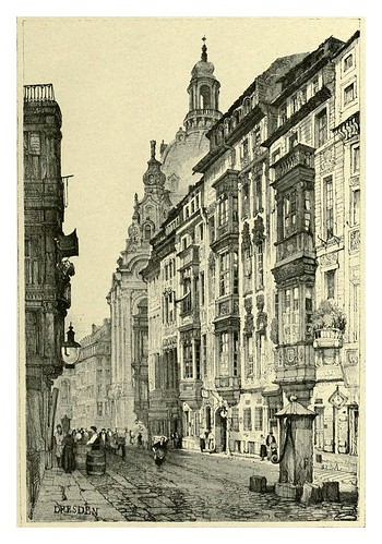 029-Dresden-Sketches by Samuel Prout in France Belgium….1915