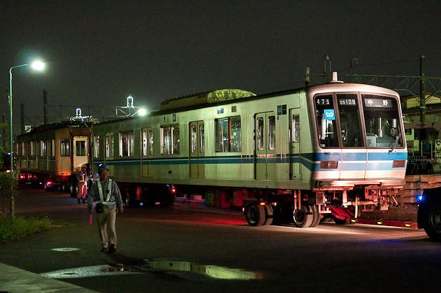 東京メトロ東西線05系05-108F 05-108,208 川崎港へ陸送