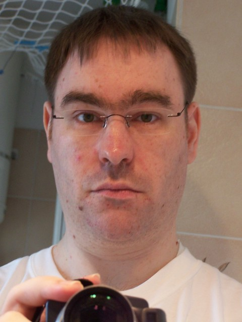 After: new haircut, new glasses