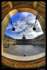 :-) (Alexis.D) Tags: paris france interieur invalides dome hdr cour photomatix samyang