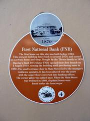 Photo of Orange plaque number 5100