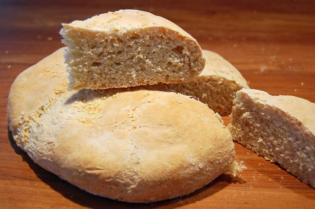 Homemade Kesra (Moroccan bread)