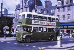Aberdeen Corporation 224 Castle Street (Guy Arab UF) Tags: bus buses aberdeen 1956 224 castlestreet aberdeencorporation metrocammell daimlercvg6 jrg224