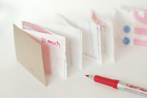 recycled love note...