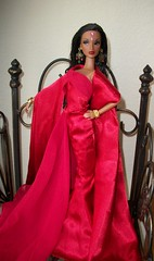 Countess  of  Rubies (napudollworld) Tags: girl fashion aka fire james centennial dress dancing katia designer barbie spotlight bond dynamite royalty mattel tj 007 sorority countess rubies jimenez