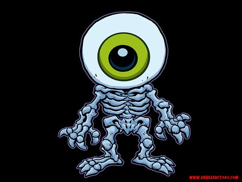 ERIC TALBOT'S SKULLFACTORY ::   eyeball_640x480 .. wallpaper (( 2000 ))