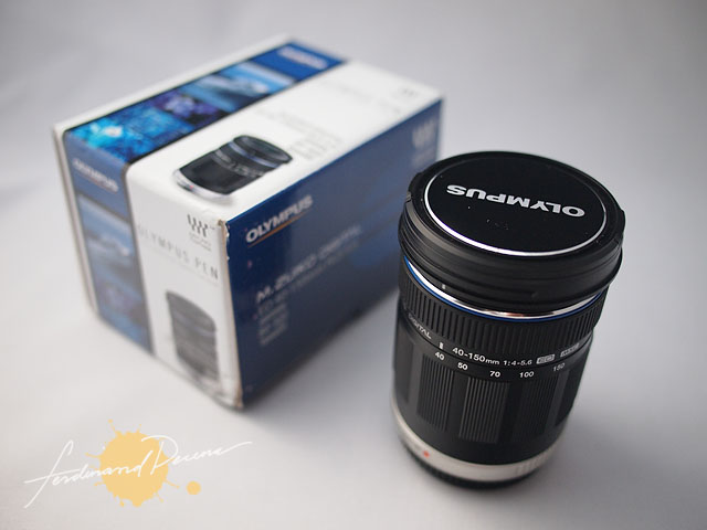Olympus M.Zuiko 40-150mm f4.0-5.6 MSC and Box