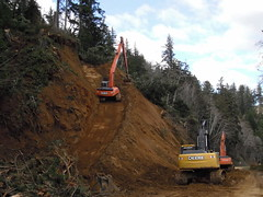 SR 401 Unstable Slope (WSDOT) Tags: washington highway landslide astoria megler