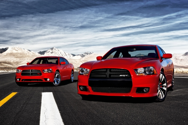 2011 Dodge Charger R/T and 2012 Dodge Charger SRT8
