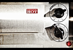 Hot Stuff (Βrandon) Tags: hot cooking kitchen industrial oven steel rack chef stuff heat appliance stainless backing project365