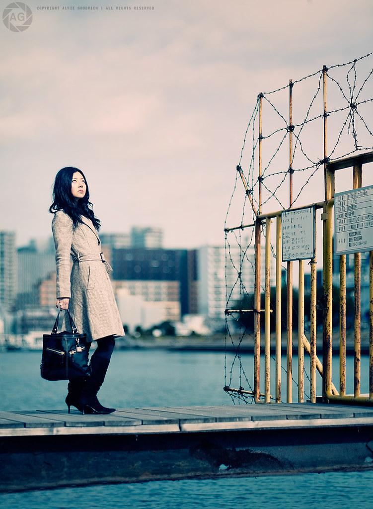 Natsuko Shoot No.2; The Pier