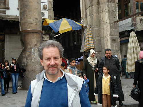 Scott Atrain in Damascus