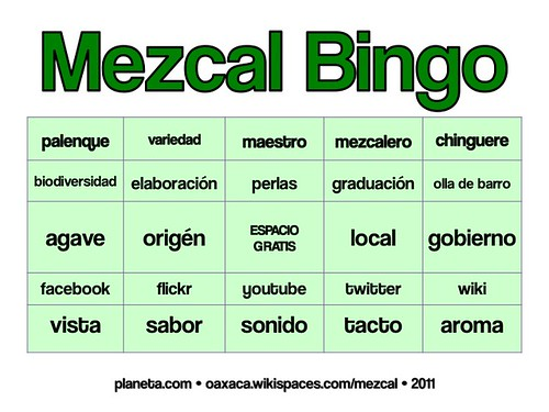 mezcal bingo