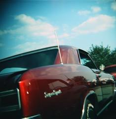 '66 chevelle ss (s myers) Tags: classic chevrolet car vintage mediumformat xpro kodak muscle antique kentucky ky crossprocess badass ss 1966 chevelle diana chevy vehicle louisville e100vs 120mm supersport nhra nationalhotrodassociation photoworkssf
