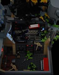 Game Over, Man! (Catsy [CC]) Tags: mod lego contest colonial rifle scene aliens marines custom pulse modification diorama incinerator moc xenomorph laststand m240 smartgun catsy m56 brickarms m41a foitsop lifelites lego:theme=space flickr:user=catsy lego:scale=minifig lego:theme=aliens