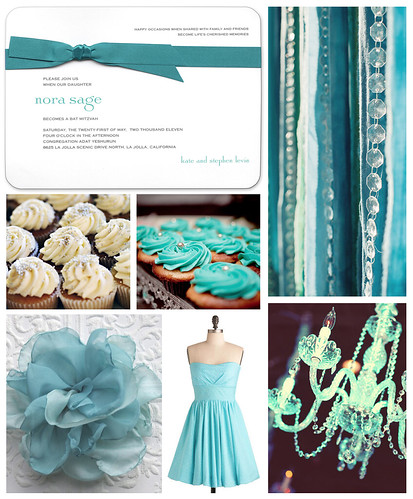 Beautiful Blue Sweet 16