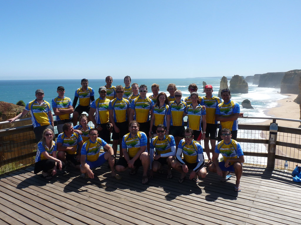 Great Ocean rd 2011 - Team