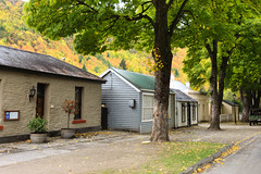 Arrowtown in Autumn , New Zealand (martindavies63) Tags: road autumn newzealand canon buildings landscape island south scenic nz southisland otago arrowtown autumncolour centraloatgo martindavies63
