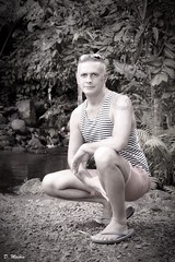 Pascal Claudio (Phoenix Blue Parangon) Tags: masculin mâle man monochrome tatoo tatouage extérieur
