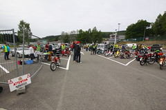 IMG_9327 (Christophe BAY) Tags: mobyltettes francorchamps 2017 rétromobile club spa circuit moto vespa camino flandria