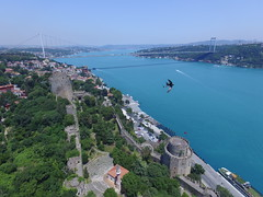 Rumelihisarı from the air (CyberMacs) Tags: projectweather aerialarchaeology air architecturalstyle arhitecture basilica bird bosphorus bosphorusbridge bosporus boğaz boğazkesencastle boğazkesenhisarı building bástya clearday dronephotography fsmköprüsü fatihsultanmehmetbridge fatihsultanmehmetköprüsü fort fortress istanbul köprü nature phantom3 places roumelihissarcastle rumelihisarı rumeliancastle sarıyer skyphotos suspensionbridge turkey turkisharchitecture wall aerial aerialphotography animal drone droneography fromabove outdoor tower tr