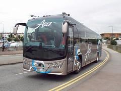 MR17AAZ (47604) Tags: mr17aaz aziz bus coach bath birmingham