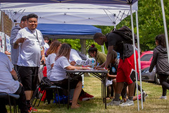 Peace N the Hood Job Fair at Steve Cox Memorial Park (kingcountyparks) Tags: stevecox jobfair peacenthehood whitecenter basketball cabin