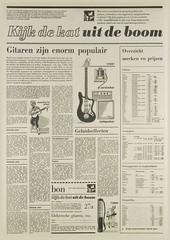 Het Vrije Volk 06-07-1966 (Nobo Sprits) Tags: fender vox rickenbacker gibson binson tubon