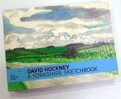 David Hockney, A Yorkshire Sketchbook - DSC01400 (Dona Minúcia) Tags: davidhockney ayorkshiresketchbook art drawing painting handbook journeybook artwatercolor arte pintura caderno landscape desenho aquarela cadernodeviagem paisagens registro cover