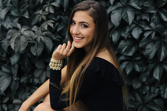Patrycja Gołda (anexxx) Tags: girl woman portrait brunette nikon d90 nikkor 50mm 14g