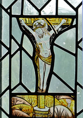 The Crucifixion (HJ in Ches) Tags: bramhall bramhallpark chapel stainedglass crucifixion window bramallhall