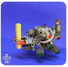 A-1 turtle (heavy beam lifter) (The Slushey One) Tags: green animal grey one construction lego turtle craft slush beam slushy hover slushee bley slushey