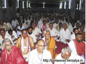 Guru Purnima being celebrated at Gobardhan Pitha Matha