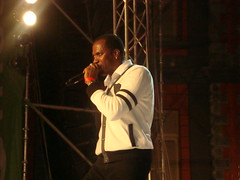 Groovy Soca Monarch Shurwayne Winchester delivering one of his many hits at Saute Trinbago (DancehallSoca.com) Tags: experience than saute culinary trinbagomore