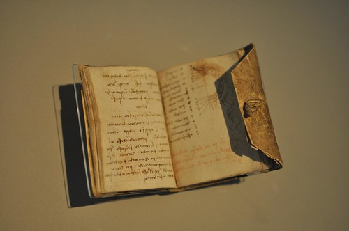 Da Vinci's notebook