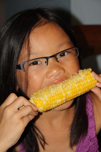 Corn Girl!