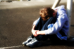 Alone (jacknalfiesmum) Tags: boy alone child sad lonely cry bully dispair withdrawn withdraw bullied boychild welcomeuk