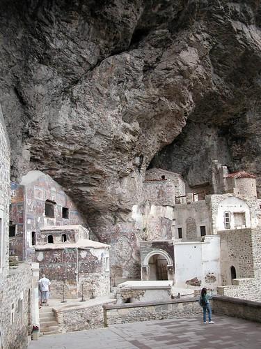 DSCN0232 Monastère de Sümela, vue de l'intérieur