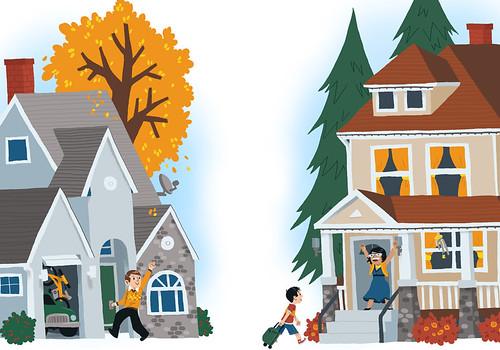 2 Houses, 1 Kid