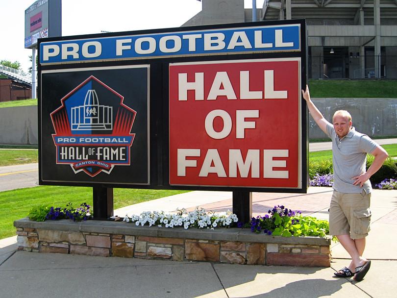 Patrick at Hall of Fame