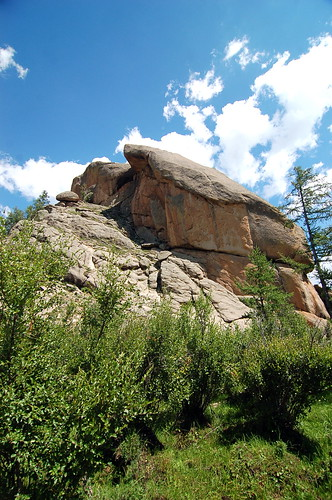 Turtle Rock 烏龜石, Terelj National Park 特勒吉國家公園