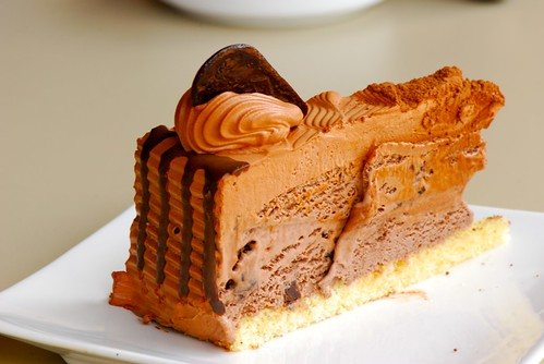 triple choc cake...