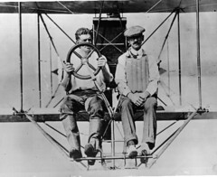 Ellyson & Curtiss A1 (San Diego Air & Space Museum Archives) Tags: airplane aircraft aviation usn aviator aviators seaplane biplane floatplane curtiss navalaviation unitedstatesnavy glenncurtiss ellyson theodoregordonellyson theodoregellyson theodoreellyson navalaviatorno1