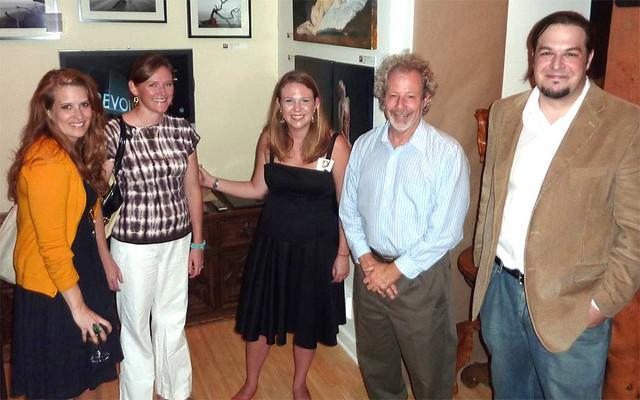 P1030166-2010-07-29-Artist-Trifecta-Gallery-Capella Kincheloe-Laura-Green-Thome-Blayne-Beachan-Bill-Harrison-Rodolfo-Castro